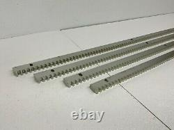 Topens Heavy Duty Galvanized Steel Gear Rack SR02 Mounting Hardware Included