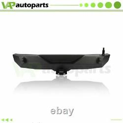 Trimming Rear Bumper With Tire Carrier & D-ring For Jeep Wrangler 07-18 JK steel