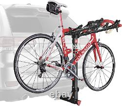 Truck SUV Rack Hitch Mount 5-Bike Bicycle Carrier Heavy Duty Rear Travel Camping
