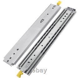 VD2576 485lb Ultra Heavy Duty Drawer Slides with Lock Side Mount 1Pair
