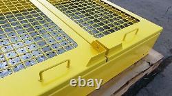 Wall Mount Steel Tool Box With Sliding Doors Heavy Duty Pegboard Powder Coat