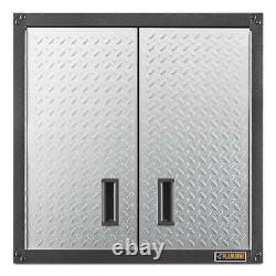 Wall Mounted Garage Cabinet Storage Metal Heavy Duty Steel Gladiator GearBox