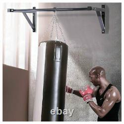 Wall Mounted Heavy Duty Chin Pull Up Bar Gym Workout Training Fitness 500 lbs US