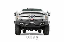 Warn 100918 Front Bumper With D-Ring & Winch Mount For 2017-2018 Ford Super Duty
