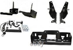Warn Hidden Winch Mount Kit in Black Fits Ford Super Duty 11-16 84515