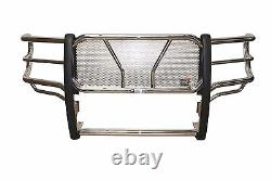 Westin HDX Grille Guard 2011-2014 Chevy Silverado 2500/3500 HD STAINLESS STEEL