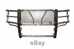 Westin HDX Grille Guard 2015-2019 Chevy Silverado 2500/3500 HD STAINLESS STEEL