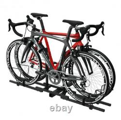 2 Bike Bicycle Carrier Platform Hitch Receiver 2 Heavy Duty Mount Rack Truck États-unis