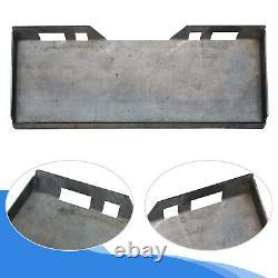 3/8 Plaque De Chargeuse Avant En Acier Lourd Quick Tach Attachment Plate