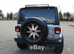 Au-dessus De La Fenêtre Arrière Mont 30 Pouces Led Light Bar Kit Pour 07-up Jeep Wrangler Jk Jl