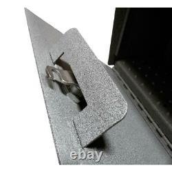 Boîte À Lettres Mur-mount Haute Sécurité Verrouillage Grand Lourd En Acier Granite Gris