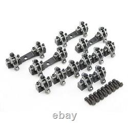 Chevy Bbc 454 Shaft Mount 1.7 Ratio Stainless Steel Heavy Duty Race Rocker Arms
