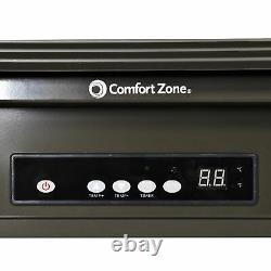 Comfort Zone Four À Ventilateur Industriel Lourd Monté Au Plafond (endommagé)