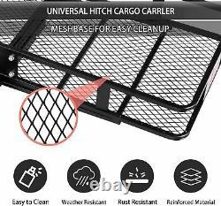Coreyosh Pliant Cargo Rack Hitch Monté Cargo Rack Porte-bagages Lourd