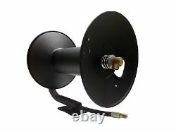 Dérapage Ou Mur Mount Super Heavy Duty Pressure Washer Hose Reel, 3/8in X 200ft