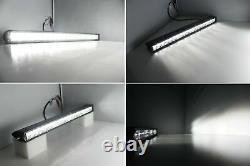 Derrière Upper Grill 20 Led Light Bar Kit Withbracket/wiring For 2007-14 Fj Cruiser