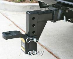 Double Roulement À Billes Mont Heavy Duty Chute Réglable Attelage De Remorquage Camion Rv Remorques