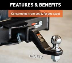 Duty Commercial Forged Ball Mount (2-1/2 Po). Shank, 20 000 Lbs, 6 Po. Déposer)