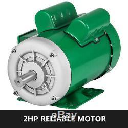 Ferme 2hp Moteur Électrique Duty 1 Ph 7/8 Arbre Support De Montage 60hz 110v Tension