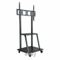 Floor Tv Ultra Heavy-duty Steel Mobile Tv Cart Pour 37 100 Pouces