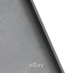 Heavy Duty 3/8 Tach Fixation Rapide Support De Plaque Skidsteer Bobcat Kubota Gris