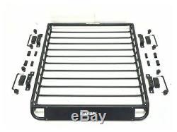 Heavy Duty Barre De Toit Porte-bagages Universel De Stockage Porte Bagages Panier Mont