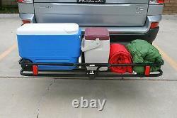 Heavy Duty Hatch Mount Cargo Porte-porte-bagages Panier Porte-bagages 500lbs