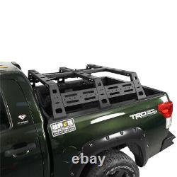 Heavy Duty Steel High Bed Rack Avec Système De Montage De Pneus De Secours 2007‐2013 Toyota Tundra