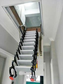 Heavy Duty Steel Metal Loft Wall Ladder Stairs Attic Folding Ladder Wall Monté