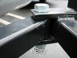 Heavy Duty Swing-vous Attelage De Remorquage Mont Cargo Porte-bagages Panier 50x20