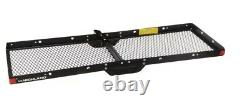 Hitch Cargo Carrier Mount Heavy Duty Steel Transport Supplies Camping