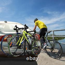Hitch Mount Carrier Platform Rack 2 Vélo Vélo 2 Pouces Car Truck Suv Heavy Duty
