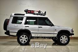 Land Rover Discovery 2 Pare-chocs Avant Robuste En Acier Avec Treuil Installation De La Nouvelle