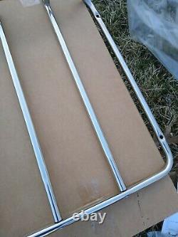 Nouveau Porte-bagages En Acier Inoxydable Corvette C3 Porte-bagages Unit Trunk Rack
