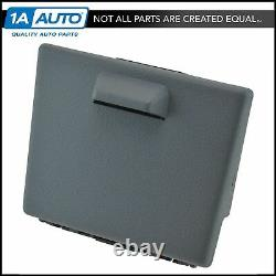Oem Dash Monté Pull Out Dual Cup Holder Assembly Steel Gray For Pickup Truck