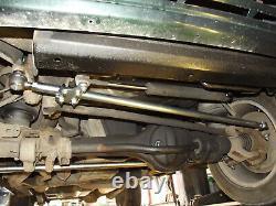 P38 Range Rover Barres De Direction Heavy Heavy Heavy Acier Inoxydable + Mont Amortisseur Sumobars