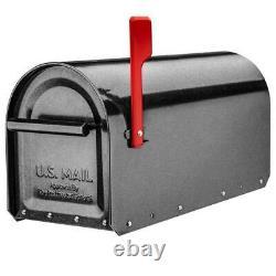 Post Mount Mailbox Fade Résistant Au Faux Poids Étain En Acier Galvanisé
