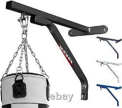 Rdx Heavy Duty Boxing Punch Bag Wall Bracket Steel Mount Hanging Stand Mma Hook