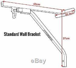 Rdx Heavy Duty Punching Blanc Support Mural En Acier Mont Hanging Support De Boxe Mma