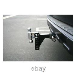 Remorque Réglable Hitch Dual Ball Mount Drop Remorque Heavy Duty Truck Pin Receiver