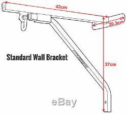 Sac De Boxe Rdx Poinçonnage Support Mural Robuste En Acier Montage Suspendu Stand Mma Us