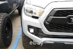 Sae Conforme Led Antibrouillard Avec Supports Et Fils De Montage Pour 16-up Toyota Tacoma