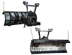 Snowdogg Gen 2 Inoxydable Heavy Duty 7.5 Plough Avec Câblage, Montage Et Matériel