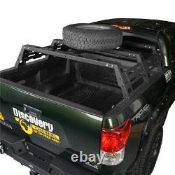 Support De Lit Haut En Acier Lourd Avec Support De Montage De Pneu De Secours 2007-2013 Toyota Tundra