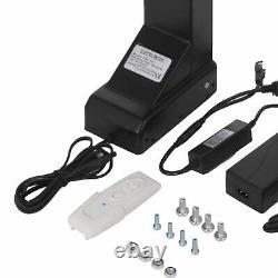 Support De Montage De Levage De Tv Motorisé Pour 32-70 Téléviseurs Poids Lourds Électrique Us Plug