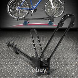 Support De Vélo De Toit Universel En Fer Lourd De Voiture De Toit De Bicyclette De Roue-sur Le Support De Vélo De Montage Aveclock