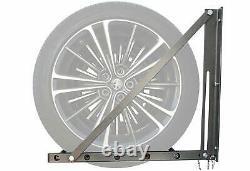 Support Pliant De Support De Support De Support De Support De Roue Lourde De Garage Mount Steel 300lb