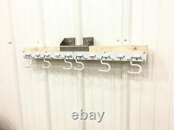 Supports De Mur D'atelier Ondulés Robustes Mounts On Corrugated Wall -12 Pack