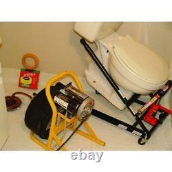 Toilette Master Jack Toilettes Installateur Floor Wall Mount Toilets Heavy Duty Steel