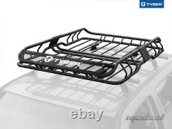 Tyger Roof Mounted Cargo Basket Porte-bagages Rack Heavy Duty L47xw37xh6